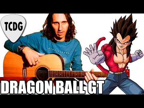 Como Tocar Dragon Ball Gt mi Corazón Encantado: Tutorial Completo Para Guitarra Acústica Tcdg video