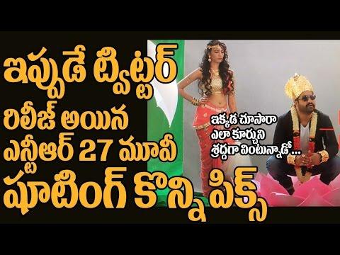 #NTR27 Movie Shooting Pics   Jai LavaKusa First Look   Logo Launch On Sri RamaNavami   Top Telugu TV