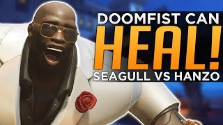 Overwatch: Doomfist Can HEAL Enemies! - Seagull Calls Hanzo Too Easy