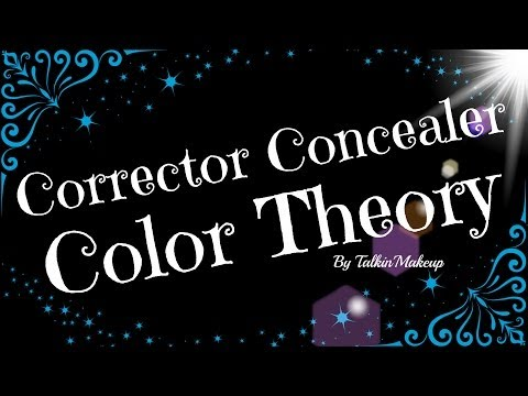 Color Theory How to use Corrector Concealer