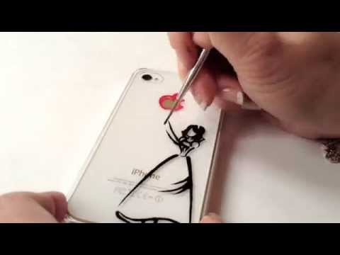 How to paint iphone case: Disney Snow White