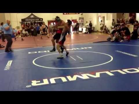 CA wrestling match in Los Banos high school