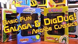 Basic Fun's Arcade Classics Galaga and Dig Dug!