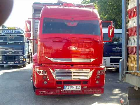 modifiyeli kamyonlar urfalı