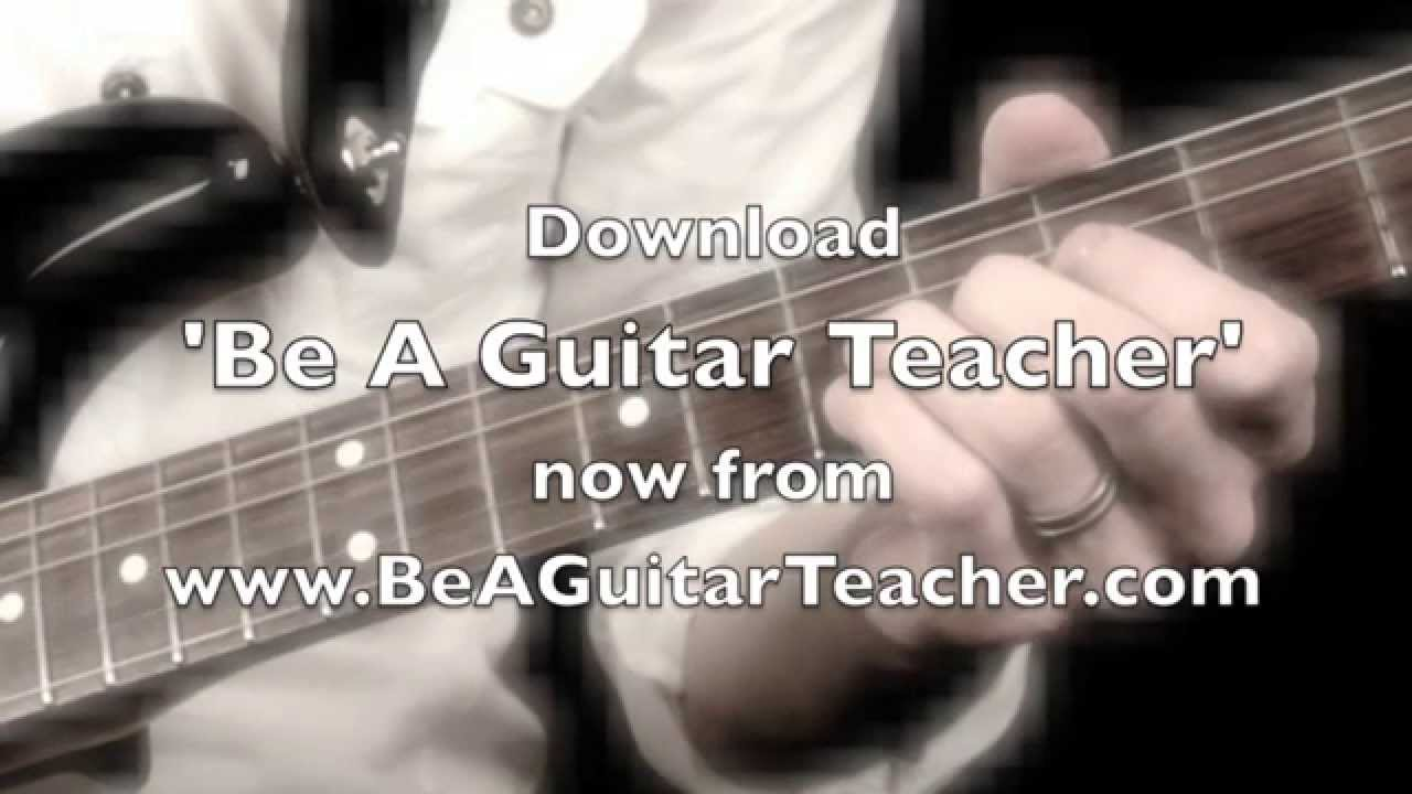 [Be A Guitar Teacher] Video