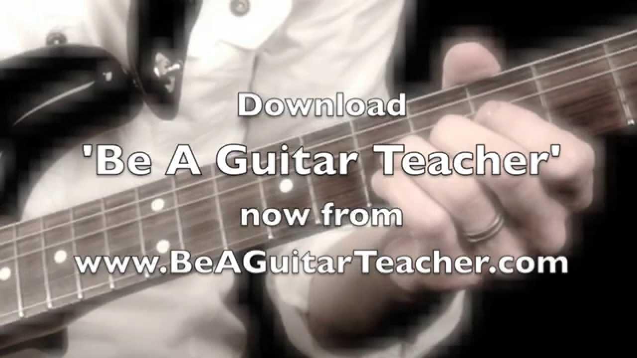 [Be A Guitar Teacher] Video