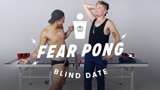 Blind Dates Play Fear Pong (Sonny & Nathan)