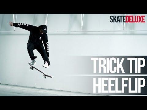 Heelflip | Skateboard Trick Tip | Français/French | skatedeluxe