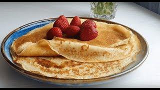 ASMR ☆ Ажурные Заварные Блины На Кефире ☆ Fishnet Pancakes on Kefir ☆ No Music Recipe ☆