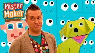 Square and Shapes! ◼️🎨| FULL EPISODE  - Mister Maker's Arty Party