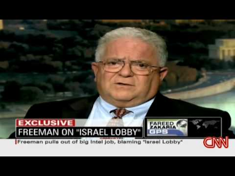 Charles Chas Freeman On GPS W/ Zakaria: Israel Lobby Ended His Nomination to Top Intel Job 1/2