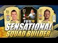 SENSATIONAL 100K HYBRID FIFA 19 SQUAD BUILDER