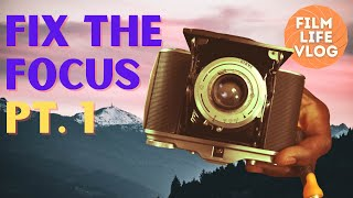 How to fix the focus on a folding camera (Part 1)