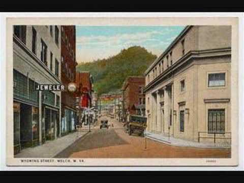 These are old postcards of Welch, West Virginia.