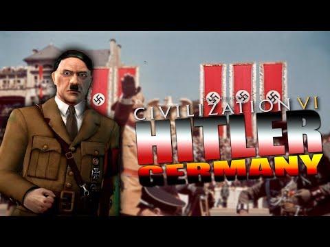CIV 6: Civilization Review/Spotlight | Germany (Mod) Hitler