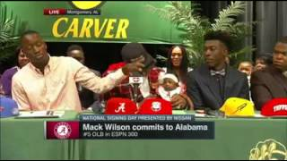 Mack Wilson #34 in #ESPN300 (#5 LB) commits to Alabama