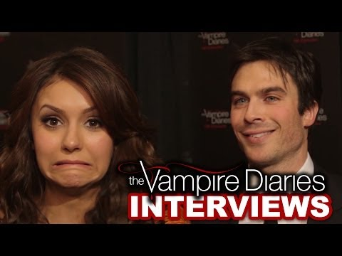 Ian Somerhalder & Nina Dobrev Best TVD Moments from 100 Episodes -- Exclusive