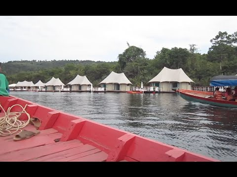 Boat tour at Tatai Krom Natural community tourism, Koh Kong province