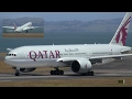 WORLD'S LONGEST FLIGHT ✪ Qatar Boeing 777-200LR ► Takeoff ✈ Auckland Airport