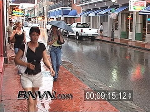 5/4/2006 New Orleans, LA rain video - NOLA 9 Months After Katrina Part 1