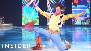 What It Takes To Perform In 'Disney On Ice'