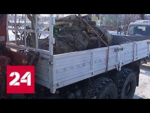 Спасатели покидают место крушения Ан-148 в Подмосковье - Россия 24
