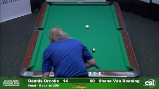 Match 14 Final Dennis Orcollo vs Shane VanBoening