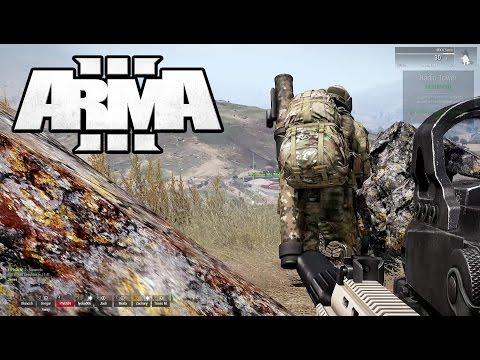 ARMA 3: 77th JSOC Military Simulator — First Time Squad Leader - Part 2 — Grenading The Minefield
