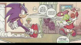 Sonic X Comic Issue 17