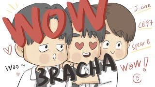 [ENG CC] Stray Kids Animation - WOW by 3RACHA finally has a MV!