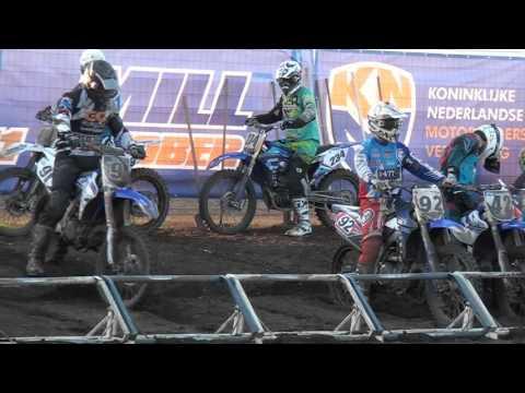 Motorcross ONK Msc Mill MX I Tweede Manche en Herstart en de nieuwe Kampioen William Saris uit Bakel