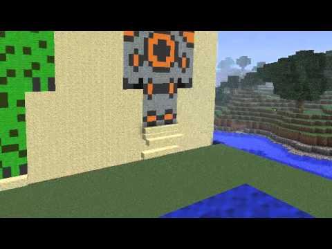 Minecraft Alien Statues