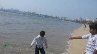 Beach near wankhede stadium, Mumbai
