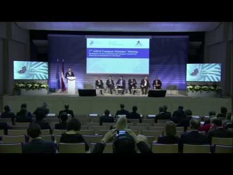 Panel session I of 3rd ASEM Transport Ministers' Meeting, 30 April 2015
