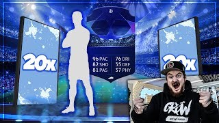 20x CHAMPIONS LEAGUE 2 SPIELER PACKS feat WALKOUT 😱 FIFA 19 SBC Pack Opening