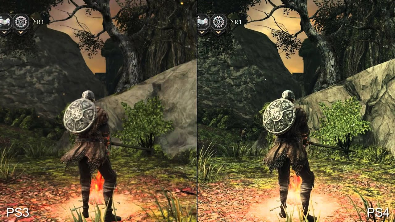 Souls Ps3 Dark Souls 2 Ps4 vs Ps3