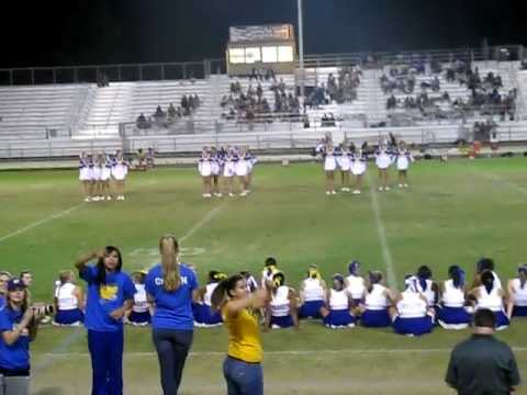 Will C. Wood High School Varsity Cheer Squad 2011