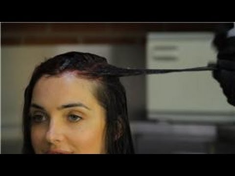 Hair Color : How to Apply Hair Color and Touch Up Roots