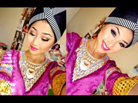 hmong inspired makeup tutorial  youtube