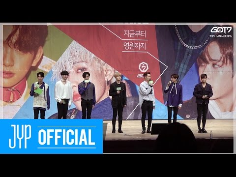 """GOT7 Mini Fanmeeting """"FROM NOW TO THE END"""" Behind"""