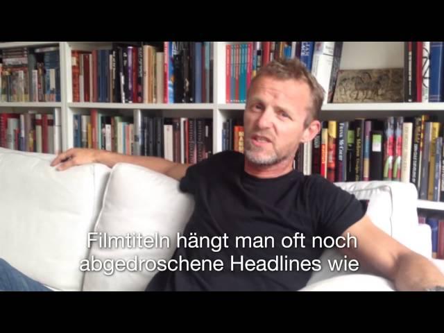 Videogrußbotschaft von Jo Nesbø zu Koma
