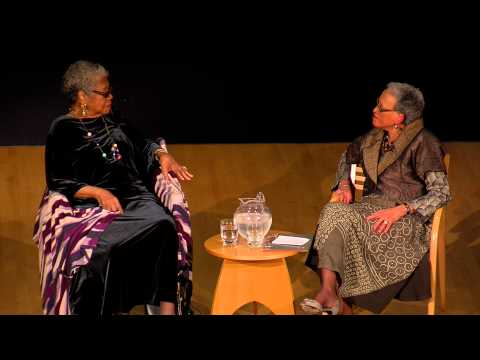 NMAfA Director Johnnetta Betsch Cole in conversation with Maya Angelou