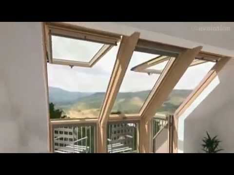 velux cabrio dachbalkon dachterrasse 3d animation. Black Bedroom Furniture Sets. Home Design Ideas
