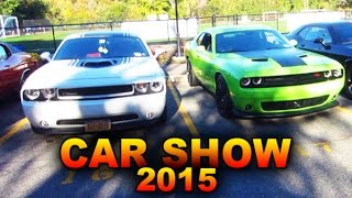 Car Show 2017 Vlog - Dodge Challengers, 1967 Dodge Charger, (Classic Cars, Muscle Cars & More!)