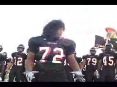 Trinity's Trojan Football team performing the HAKA, a Polynesian Traditional War Dance... hence went on to claim their 1st ever STATE CHAMPIONSHIP. HAKA was popularized by the New Zealand All...