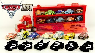Disney Cars Mini Racers Wave 3 6 Pochettes Micro Voitures McQueen Jouet Toy Review