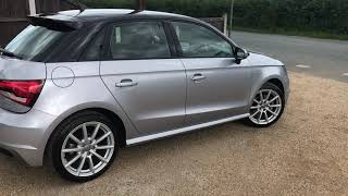 2016 AUDI A1 1.4 SPORTBACK TFSI S LINE FOR SALE | CAR REVIEW VLOG