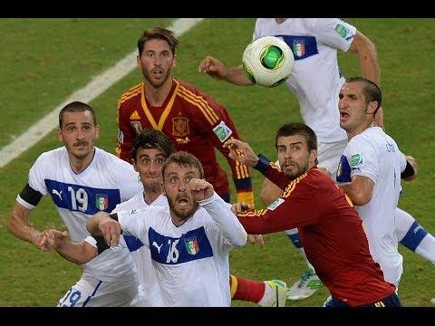 Spagna-Italia: sfida a colpi di numeri