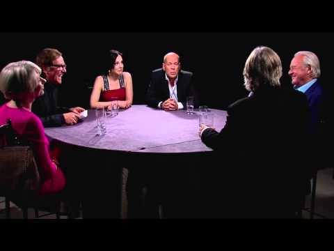 Red 2 Roundtable Part 2 - Bruce Willis, Anthony Hopkins, Helen Mirren, Mary-Louise Parker (2013)