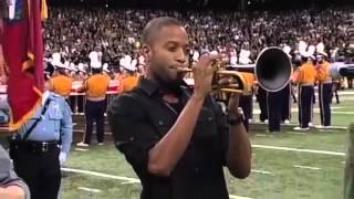 National Anthem Performed By Trombone Shorty